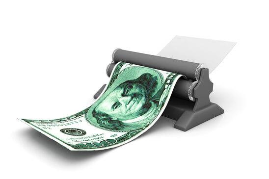 Taky tisknete peníze?